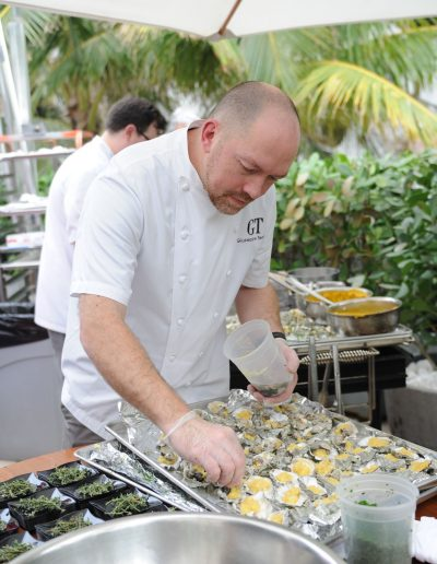Oyster Bash hosted by Josh Capon - 2018 Food Network & Cooking Channel South Beach Wine & Food Festival at Lure Fishbar at the Loews Miami Beach Hotel on February 23, 2018 in Miami Beach, Florida